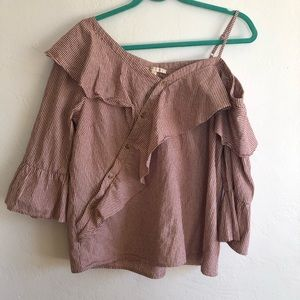 Skies are Blue Stitch Fix Cotton Top size Large